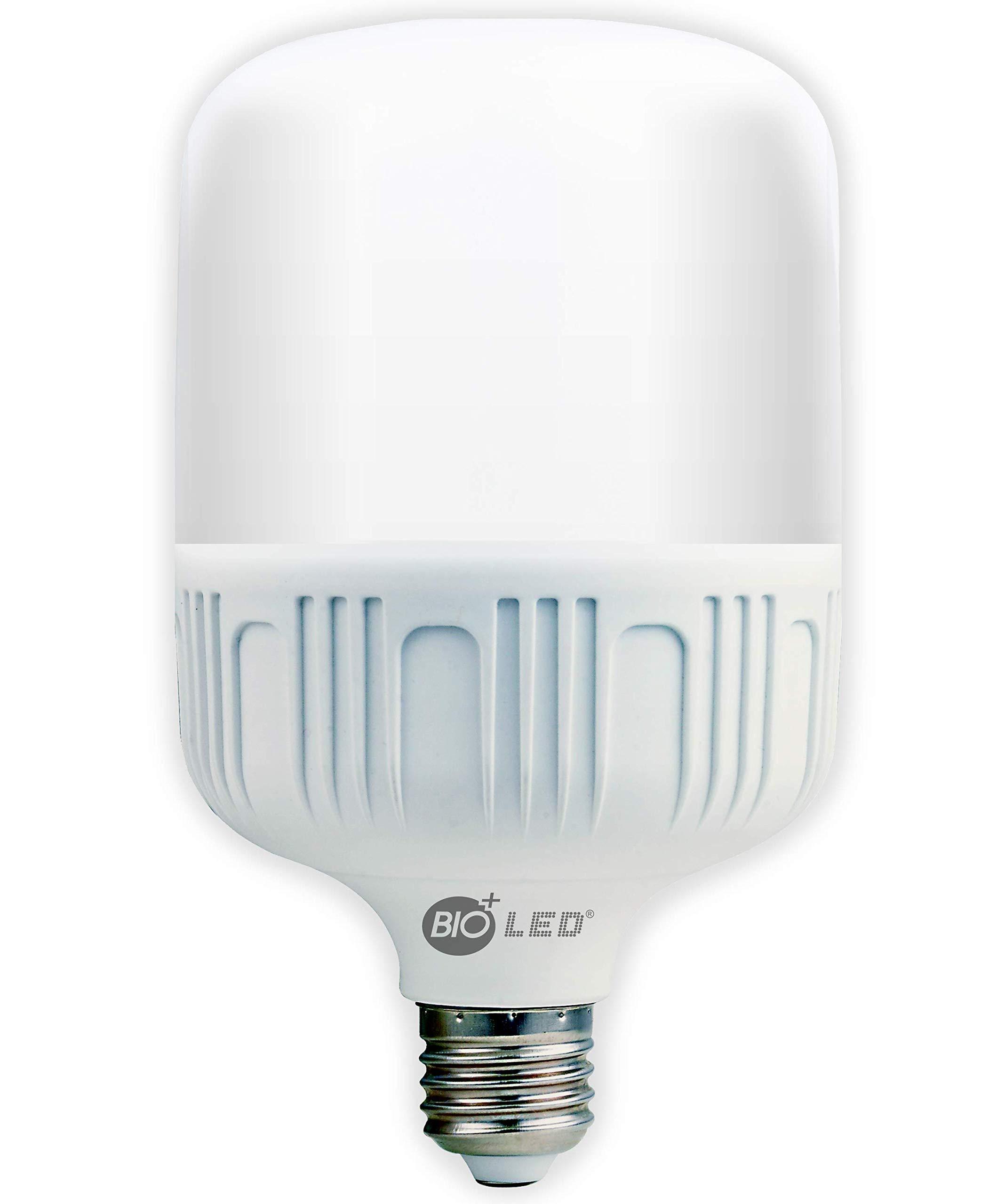 Bioled 20W, E26, Warm White(3000K), 200 Watt Equivalent, LED Light Bulbs, IP40 Dustproof& Humudity Proof Light Bulbs, Commercial& Residental Bright LED Bulb, Shop, Work Light, Garage Light, Home Light