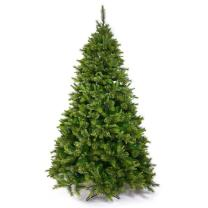 """Vickerman Cashmere Slim Artificial Christmas Tree with 450 Multi-Colored LED Lights, 6.5' x 42"""""""