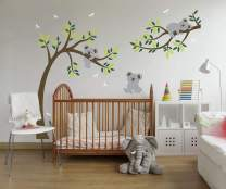 Decalmile Bees Wall Stickers Murals