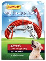 RUFFIN' IT Chrome Tie Cable