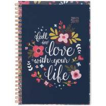"""2019-2020 Academic Planner, Cambridge Weekly & Monthly Appointment Book, 5-1/2"""" x 8-1/2"""", Small, Customizable, Love Life (1194-201A)"""
