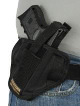 Barsony New 6 Position Ambidextrous Concealment Pancake Holster for Compact 9mm 40 45