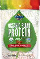 Garden of Life Organic Protein Powder - Vegan Plant-Based Protein Powder, Coffee, 8.6 oz (244g) Powder