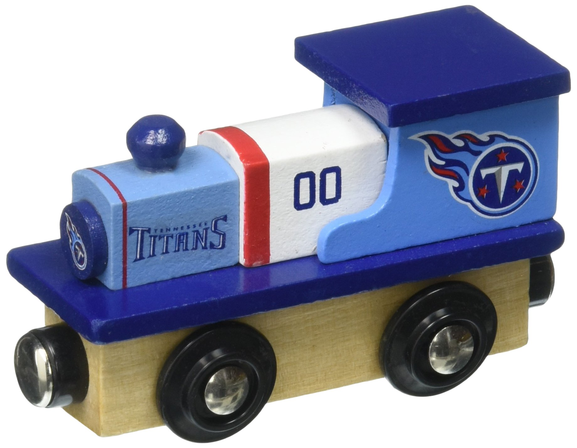 MasterPieces NFL Tennessee Titans Real Wood Toy Train, For Ages 3+