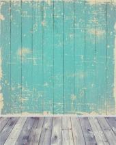 AOFOTO 4x5ft Vintage Wood Wall Backdrop Old Shabby Hardwood Board Photography Background Nostalgia Retro Rustic Photo Studio Props Girl Child Toddler Boy Kid Infant Artistic Portrait Vinyl Wallpaper