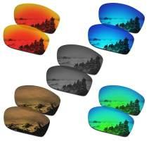 SmartVLT Set of 5 Men's Replacement Lenses for Oakley Jawbone/Racing Jacket Sunglass Combo Pack S02