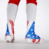 USA Flag Zoomed Spats/Cleat Covers