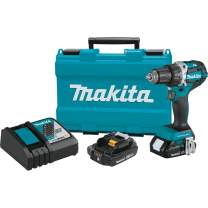 """Makita XFD12R 18V LXT Lithium-Ion Compact Brushless Cordless 1/2"""" Driver-Drill Kit (2.0Ah),"""