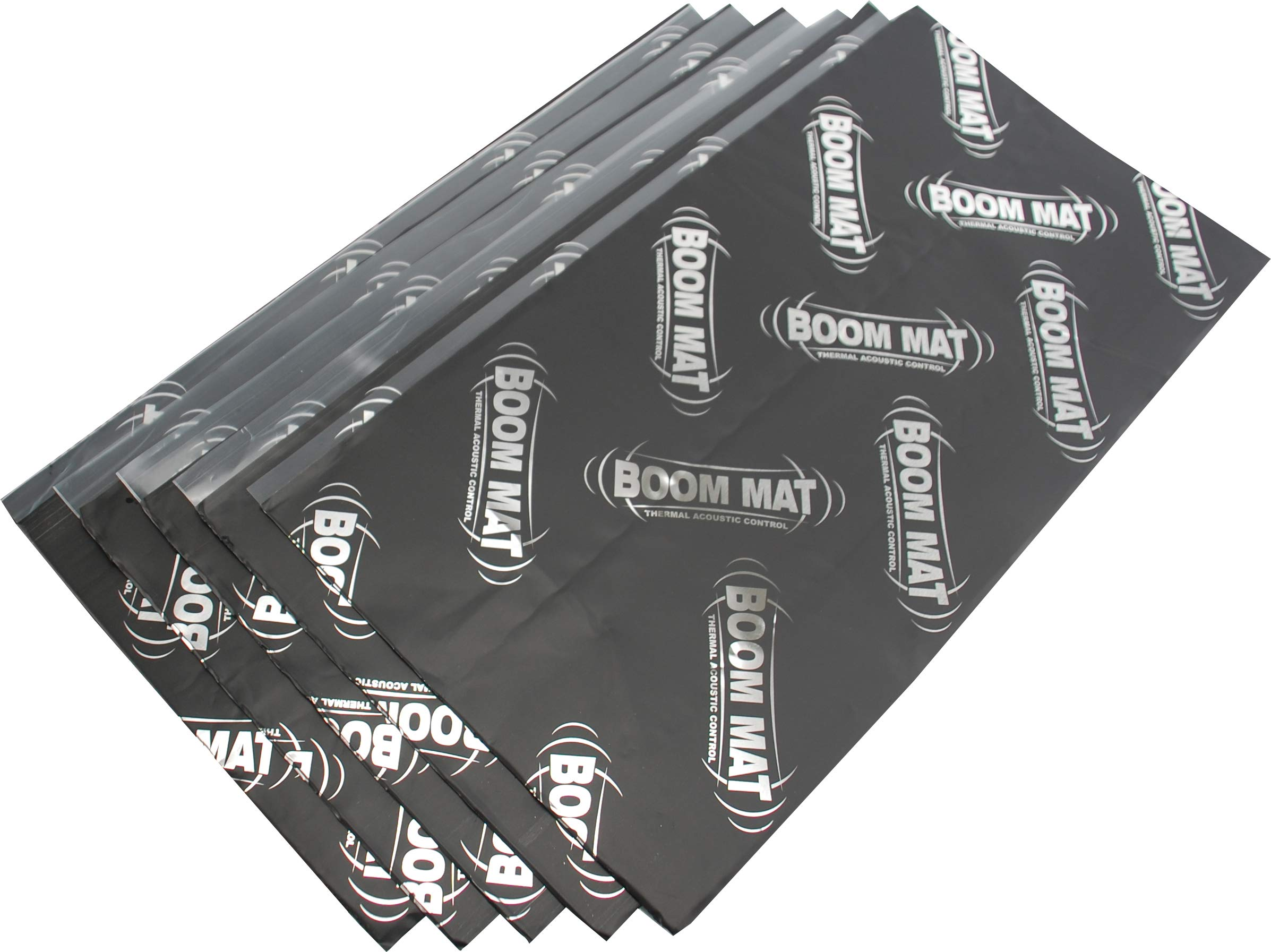 "Design Engineering 050223 Boom Mat XL 12.5"" x 24"" (10 Sheets) 4mm Damping Material"