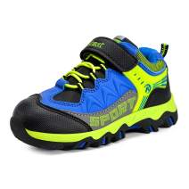 MARSVOVO Boys Girls Hiking Shoes Waterproof Kids Winter Boots Anti-Slip Outdoor Running Shoes