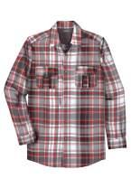 KingSize Men's Big & Tall Plaid Flannel Shirt