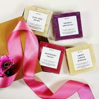 Mother's Day Luxury Handmade Soap Gift Set For Women, Lovely and Sweet Collection (Soap Only Box Set)