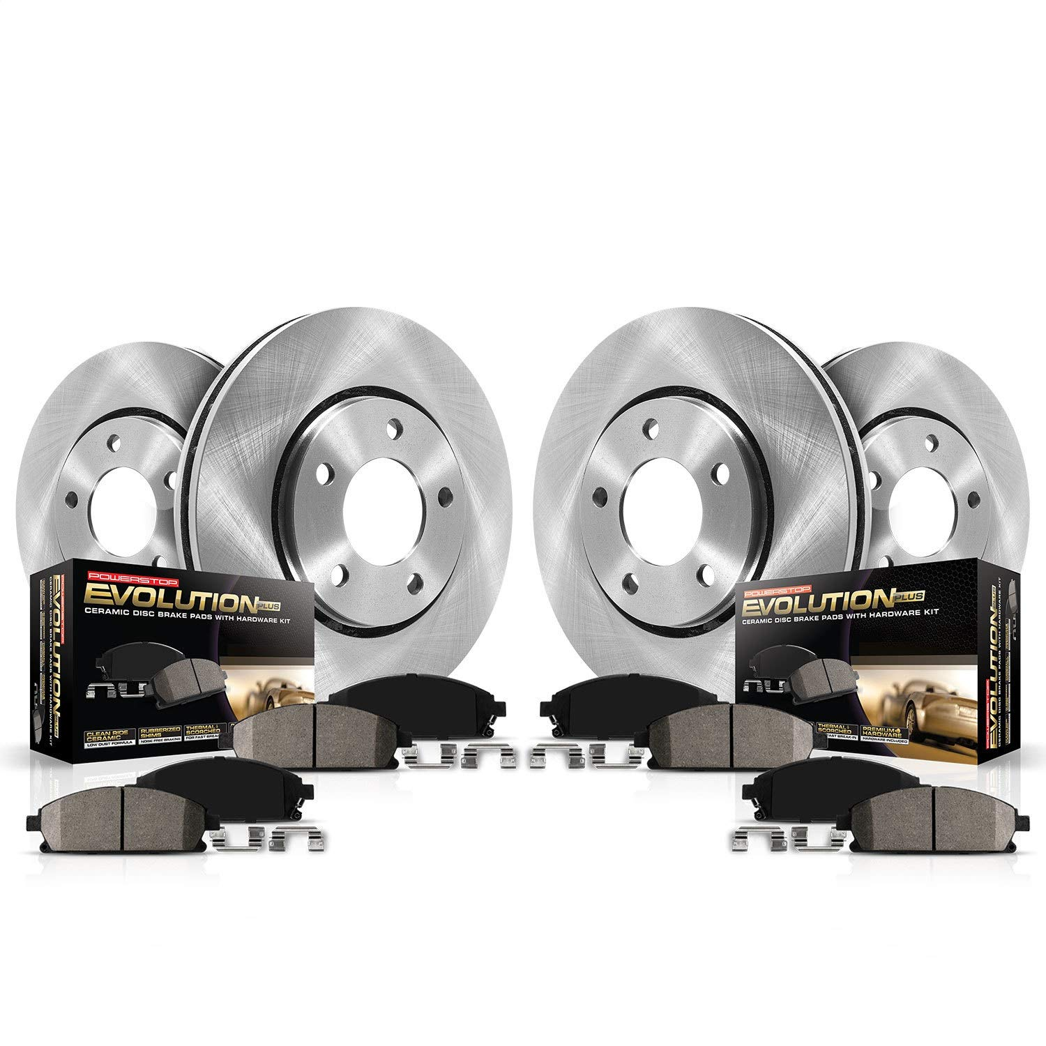 Autospecialty (KOE5375) 1-Click OE Replacement Brake Kit