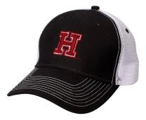 Ouray Sportswear NCAA Harvard Crimson Sideline Cap, Black/White