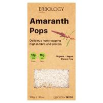Organic Puffed Amaranth 3.5 oz - Rich in Protein, Fiber and Minerals - Gluten-free