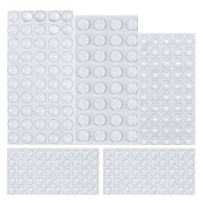 Rubber Feet, 232 Pieces Clear Adhesive Bumper Pads Self Stick Furniture Bumpers Buffer Pads, 4 Shapes for Doors, Cabinets, Drawers by AUSTOR …