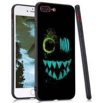 LuGeKe Smile with Teeth Phone Case Cover for iPhone X/iPhone Xs/iPhone 10 Dark Face Printed Phone Cover Shell Frame for iPhone Drop Protection Reinforced Protector