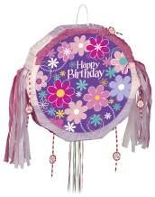 Blossom Birthday Pinata, Pull String