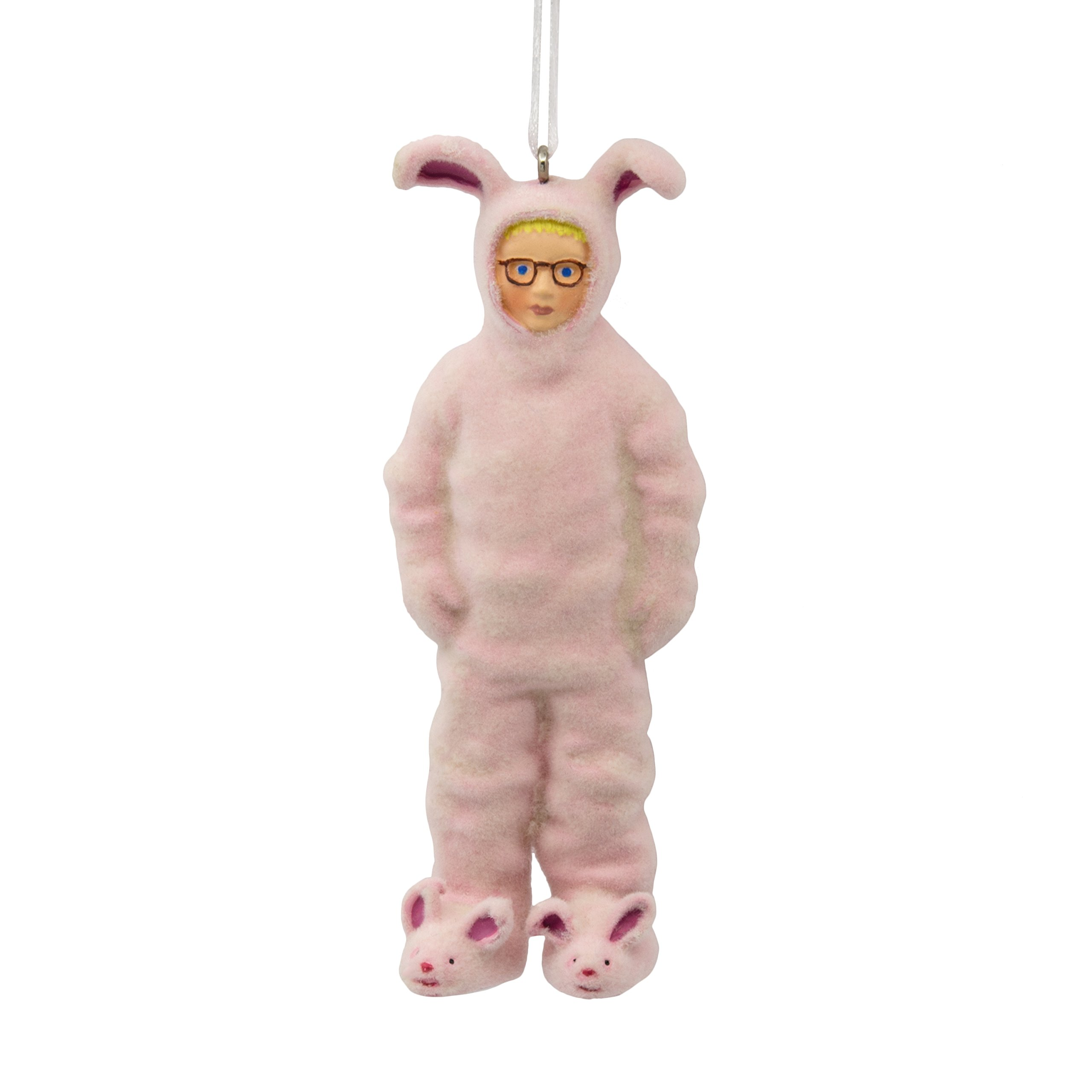 Hallmark Warner Bros Story Ralphie in Bunny Suit Christmas Ornaments