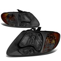 DNA MOTORING HL-OH-013-SM-AM Headlight Assembly, Driver And Passenger Side