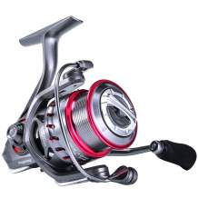 Sougayilang Spinning Reel 6.2:1 Light Smooth Shallow Spool Fishing Reel with Powerful Carbon Fiber Drag System for Saltwater or Freshwater