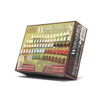 Miniature Painting Kit with 100 Rust-Proof Mixing Balls - Model Paint Set with 60 Non-Toxic Acrylic Paints for Wargamers Miniatures Hobby - The Army Painter Mega Paint Set 3