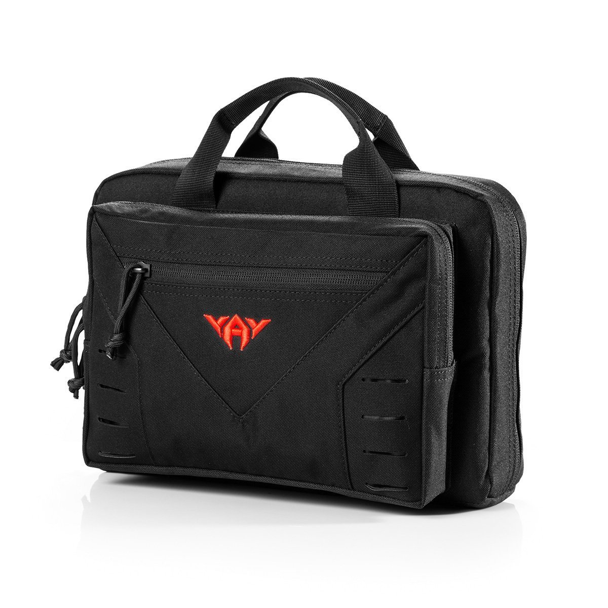 vAv YAKEDA Tactical Pistol Case Soft Range Bags for Handguns Additional Magazine Storage Slots 10L