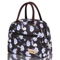 ILOME Insulated Lunch Bag Large Waterproof Adult Lunch Tote Bag for Lunch Box for Women or Men Picnic Working