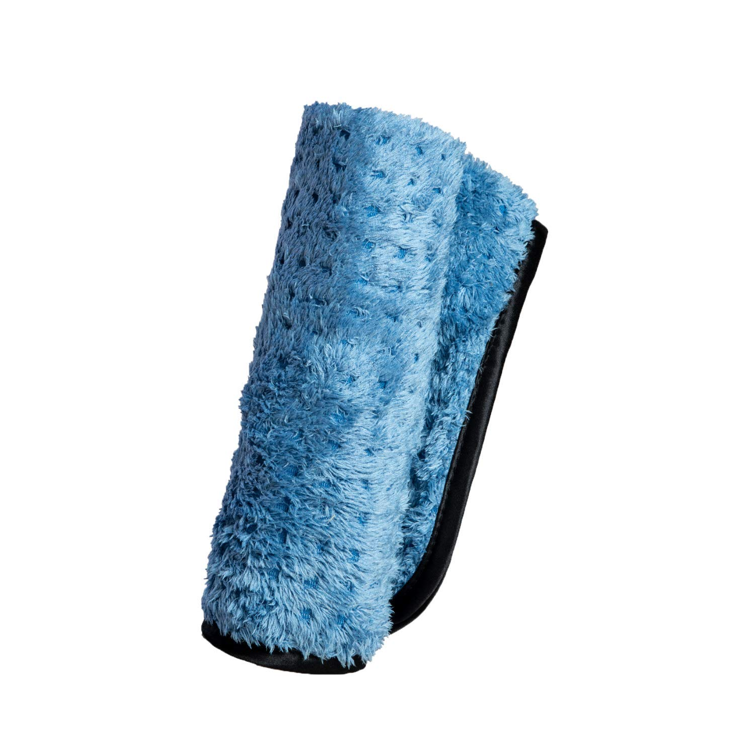 Adam's Pluffle Towel - A Microfiber Fabric Blend from Our Single Soft Towel & Waffle Weave Pattern from Our Waterless Wash Cloth - 16x16 Auto Detailing Rag W/ 490 GSM for Scratch Free (Single)