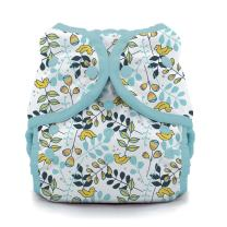 Thirsties Duo Wrap Cloth Diaper Cover, Snap Closure, Birdie Size Two (18-40 lbs)