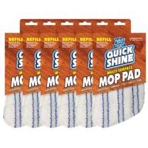 Quick Shine Multi-Surface Spray Mop Refill Pads, Pack of 6