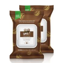 Yes To Coconut Hydrate & Restore Cleansing Facial Wipes for Very Dry Skin, 30 Count (Pack of 2)