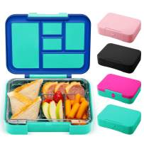 Simple Modern Porter Bento Lunch Box for Kids - Leakproof Divided Container with 5 compartments for Toddlers, Men, and Women Color Blocked: Pacific Dream