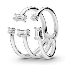 PANDORA Shards of Sparkle Ring