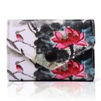 APHISON RFID Credit Card Holder Zipper Security Travel Wallet for Women Ladies Girls/Gift Box 186