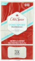 Old Spice High Endurance Pure Sport Scent Bar Soap Pack Of 6 - 24 Oz