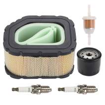HONEYRAIN 3208306-S 32 883 06-S1 Air Filter Turn up Kit with Oil Filter Spark Plug for Kohler SV710 SV715 SV725 SV730 SV735 SV740 SV810 SV820 SV830 SV840 Courage Twin Cylinder Engines