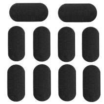 10 Pieces Hair Pad Hair Holders, Hair Sticker Clip Fixed Fringe Hair Bang Accessories Grips for Man Woman Hair Styling