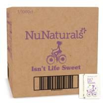 NuNaturals Organic Sugar-Free, Stevia & Monk Fruit Sweetener Packets