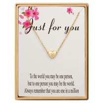 SANNYRA Dainty Initial Necklace 14K Gold White Gold Rose Gold Plated Letters A-Z 26 Alphabet Heart Pendant Necklace for Women,Valentine's Day Gifts