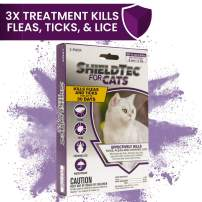 ShieldTec Flea and Tick Prevention for Cats, Kills Chewing Lice, Cat Flea Treatment
