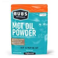 BUBS Naturals MCT Oil Powder | Medium Chain Triglyceride Oil Powder | Keto Friendly | Paleo Friendly | Healthy Fat | Low Carb