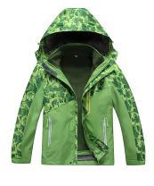 M2C Boys & Girls Hooded 3 in 1 Waterproof Fleece Mountain Jacket