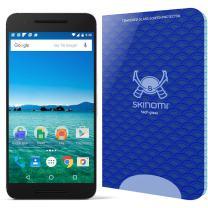 Skinomi Tech Glass Screen Protector Compatible with Huawei Nexus 6P (Google Nexus 6P) 9H Hardness Clear HD Ballistic Tempered Glass Shield