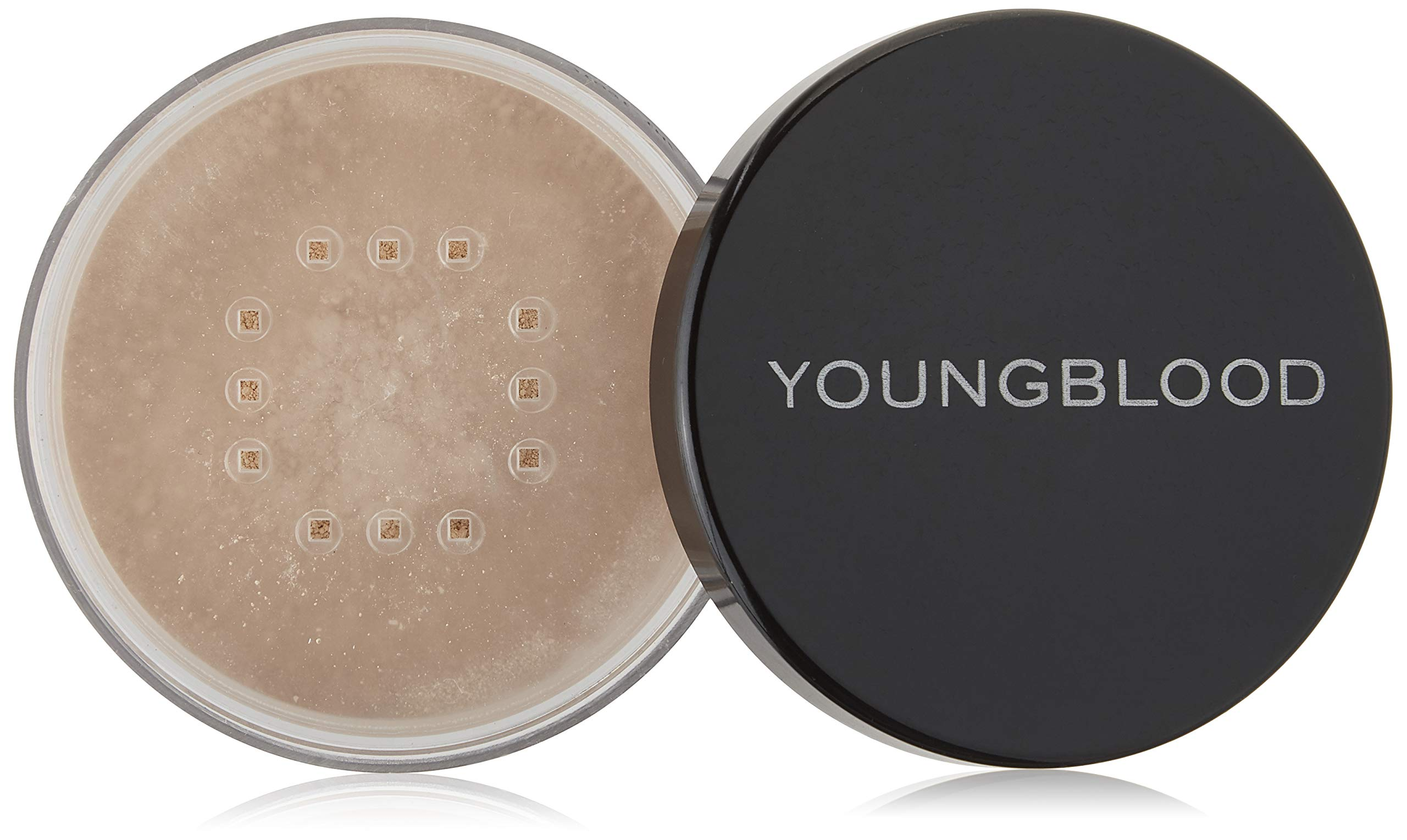 Youngblood Clean Luxury Cosmetics Natural Loose Mineral Foundation, Pearl   Loose Face Powder Foundation Mineral Illuminating Full Coverage Oil Control Matte Lasting   Vegan, Cruelty-Free