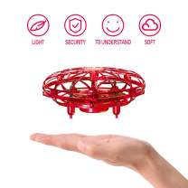 sherry Hand Operated Drone for Kids, Hand Drone, Flying Ball Drone UFO Drone