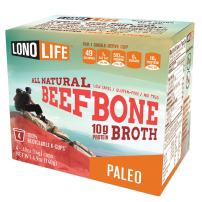 Lonolife Grass-Fed Beef Bone Broth 4x0.53oz Kcups