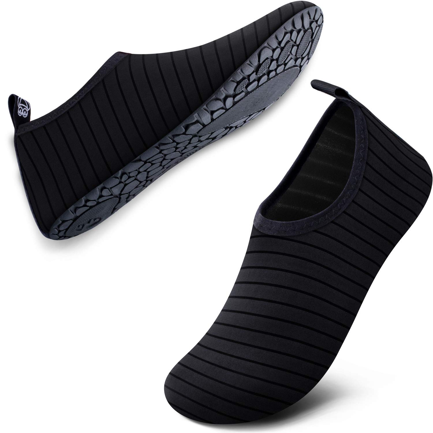 SIMARI Water Shoes Womens and Mens Quick-Dry Aqua Socks Barefoot for Outdoor Beach Swim Surf Yoga Exercise SWS001