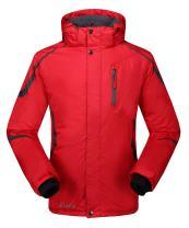 Krumba Men's Sportswear Outdoor Waterproof Windproof Hooded Warm Ski Jacket