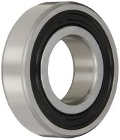 SKF 6210 RSJEM Light Series Deep Groove Ball Bearing, Deep Groove Design, ABEC 1 Precision, Single Seal, Contact, Steel Cage, C3 Clearance, 50mm Bore, 90mm OD, 20mm Width, 23200.0 pounds Static Load Capacity, 35100.00 pounds Dynamic Load Capacity